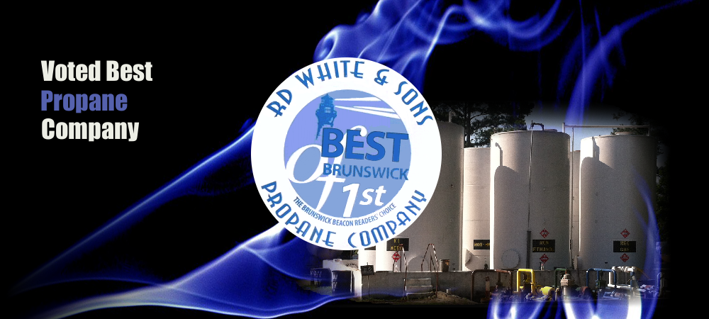 Voted best propane company